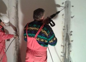 Injektiranje pukotina u zidovima
